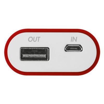 Trust Urbanrevolt 20509 Cinco 5200 Mah Powerbank-Kırmızı/Beyaz Taşınabilir Şarj Cihazı