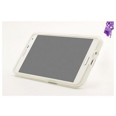 Microsonic Samsung Galaxy A7 Kılıf Standlı Soft Beyaz Cep Telefonu Kılıfı