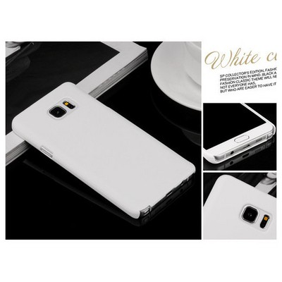 Microsonic Samsung Galaxy Note 5 Kılıf Premium Slim Beyaz Cep Telefonu Kılıfı