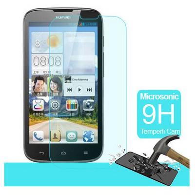 Microsonic Huawei G610 Temperli Cam Ekran Koruyucu Kırılmaz Film Ekran Koruyucu Film