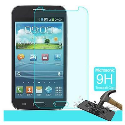 Microsonic Samsung Galaxy Win I8552 Temperli Cam Ekran Koruyucu Kırılmaz Film Ekran Koruyucu Film