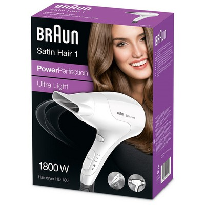 Braun Satin Hair 1 PowerPerfection Saç Kurutucu (HD180)
