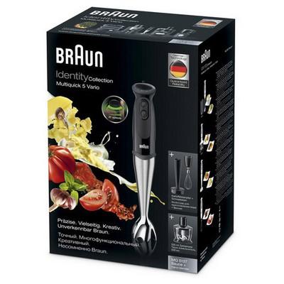 Braun Multiquick 5 MQ 5137 BK Sauce Blender Seti