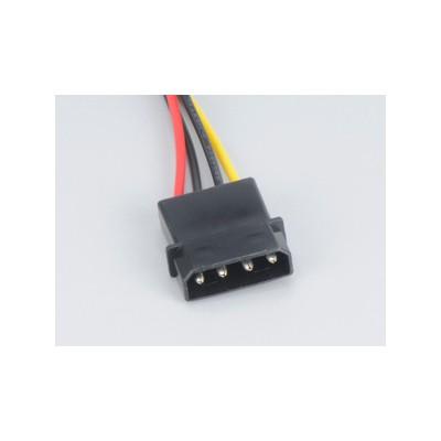 Akasa AK-CBPW01-30 0.30 Metre 4Pin Molex'i 2x 15Pin SATA'ya 0 Kasa İçi Kablolar