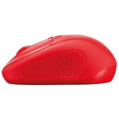 Trust Primo Kablosuz Mouse - Kırmızı (20787)