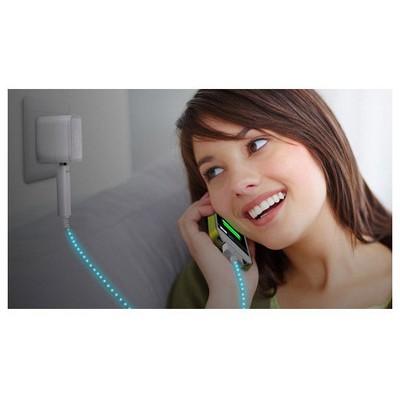 Microsonic Iphone - Ipad Akımı Gösteren Işıklı Data Ve Şarj Kablosu Dönüştürücü Kablo