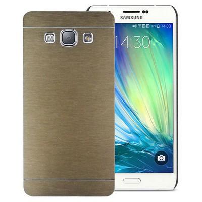 Microsonic Samsung Galaxy A8 Kılıf Hybrid Metal Gold Cep Telefonu Kılıfı