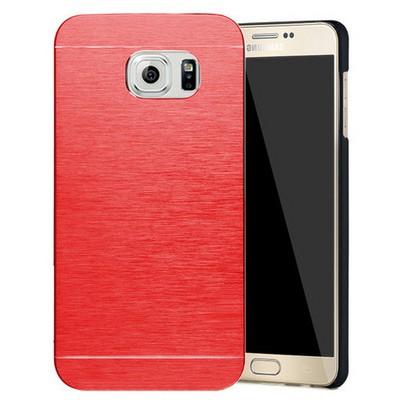Microsonic Samsung Galaxy Note 5 Kılıf Hybrid Metal Kırmızı Cep Telefonu Kılıfı