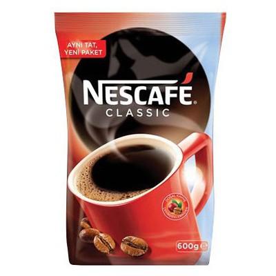 Nescafe Classic Poşet 600 Gr Alana Kupa Bardak Hediye Kahve