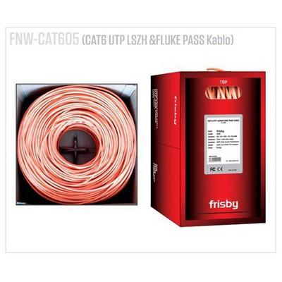 Frisby Cat6 Utp Lszh &fluke Pass Kablo (305m) Network Kablosu