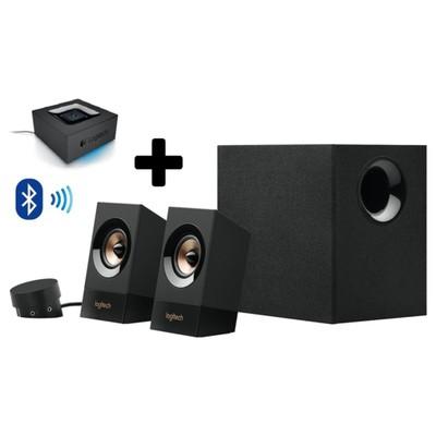 Logitech Z533 Hoparlör Siyah 980-001054+bluetooth Speaker