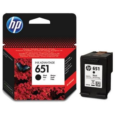 HP 651 Siyah Kartuş C2P10AE