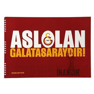 Keskin Color Galatasaray 25x35cm Resim Defteri 15 Yaprak Galatasaray Ürünleri