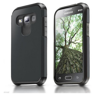 Microsonic Samsung Galaxy J5 Kılıf Slim Fit Dual Layer Armor Siyah Cep Telefonu Kılıfı