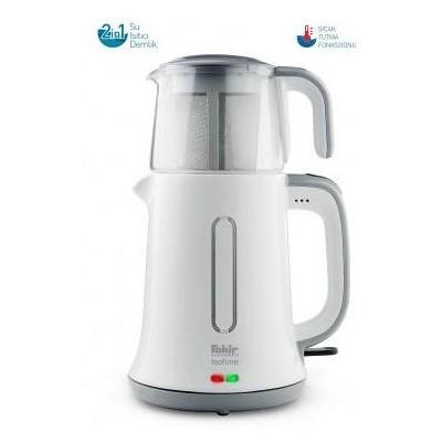 Fakir Teatime 2in1 Çay Makinası - Beyaz Çay Makinesi