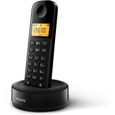 Philips D1301B/TR 50 Rehber 20 Arama Kaydı Caller id Telsiz Telefon