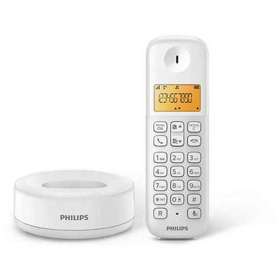 Philips D1301W/TR 50 Rehber 20 Arama Kaydı Caller id Telsiz Telefon