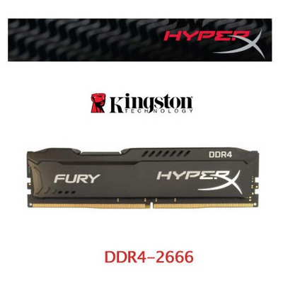 Kingston Kng Hyperx Fury 4gb D4 2666 Hx426c15fb/4 RAM