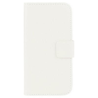 Microsonic Cüzdanlı Deri Htc One M9 Kılıf Beyaz Cep Telefonu Kılıfı