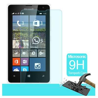 Microsonic Microsoft Lumia 532 Temperli Cam Ekran Koruyucu Film