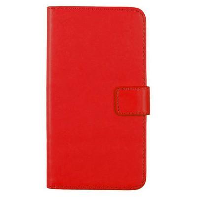 Microsonic Samsung Galaxy J1 Kılıf Cüzdanlı Deri Kırmızı Cep Telefonu Kılıfı
