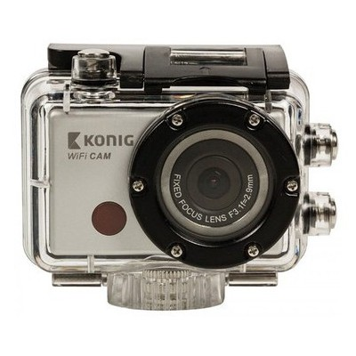 König Full Hd Actıon Camera 1080p Waterproof (glcsac300) Video Kamera