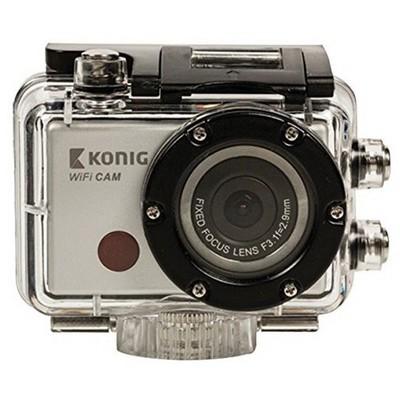 König Full Hd Actıon Camera 1080p Waterproof Wıfı (glcsacw100) Video Kamera