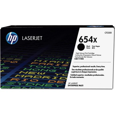 HP Cf330x Hp 654x High Yield Black Original Laserjet  Cartridge (cf330x) Toner