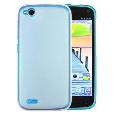 Microsonic General Mobile Discovery Kılıf Transparent Soft Beyaz Cep Telefonu Kılıfı