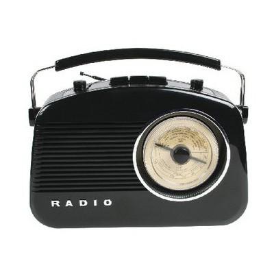 König Hav-tr710bl Retro Am/fm  Black Radyo