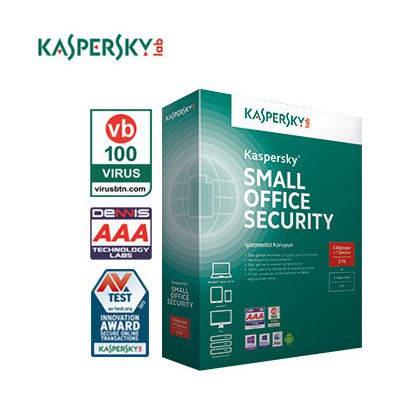 Kaspersky Small Office Security, (1 Server + 5 PC + 5 MD), 3 YIL Güvenlik Yazılımı