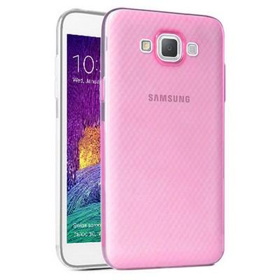 Microsonic Samsung Galaxy Grand Max Kılıf Transparent Soft Pembe Cep Telefonu Kılıfı