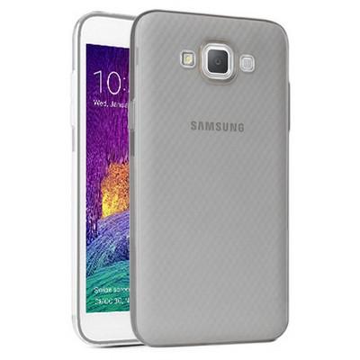 Microsonic Samsung Galaxy Grand Max Kılıf Transparent Soft Siyah Cep Telefonu Kılıfı