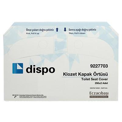 Eczacıbaşı Profesyonel Dispo  250 Adet Klozet Kapak Örtüsü