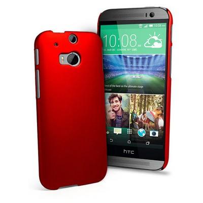 Microsonic Premium Slim Kılıf Htc One M8s Kırmızı Cep Telefonu Kılıfı
