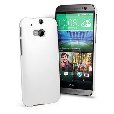 Microsonic Premium Slim Kılıf Htc One M8s Beyaz Cep Telefonu Kılıfı