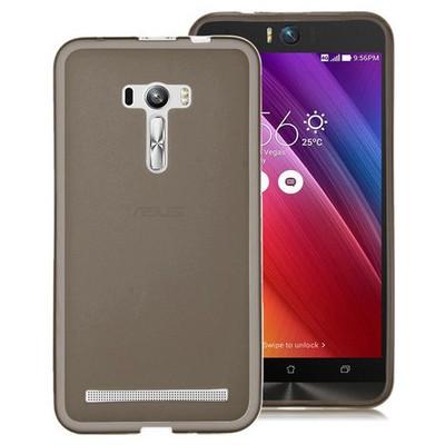 Microsonic Asus Zenfone Selfie Kılıf Transparent Soft Siyah Cep Telefonu Kılıfı