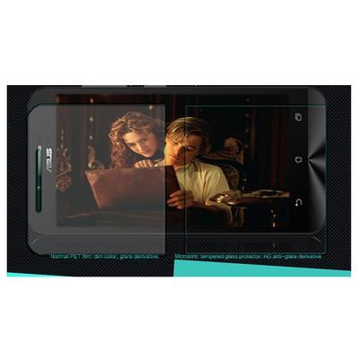 Microsonic Asus Zenfone Go Temperli Cam Ekran Koruyucu Film