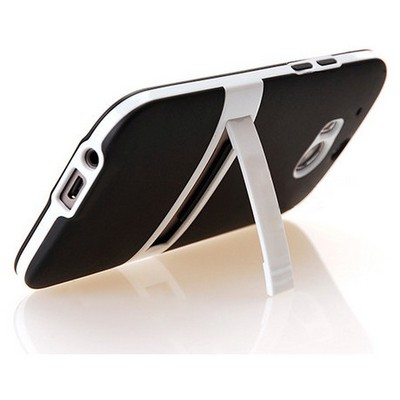 Microsonic Standlı Soft Htc One M8s Kılıf Siyah Cep Telefonu Kılıfı