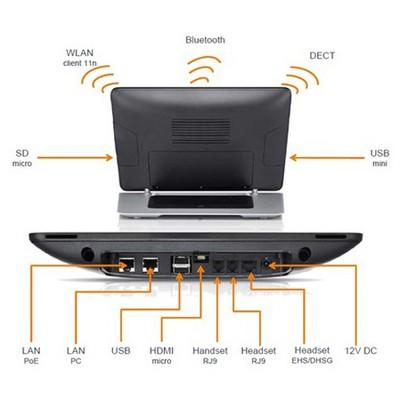 Gigaset Maxwell Cordless Set Ip Dect Telefon IP Telefon