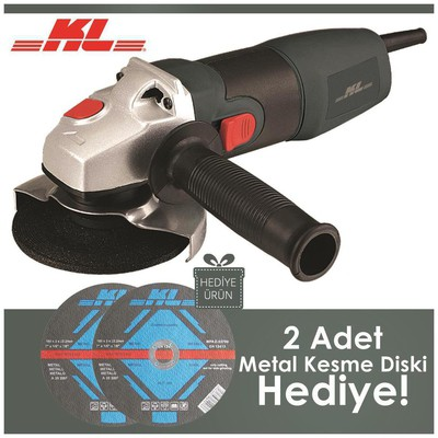 KL Hda432 800watt 115mm Avuç Taşlama