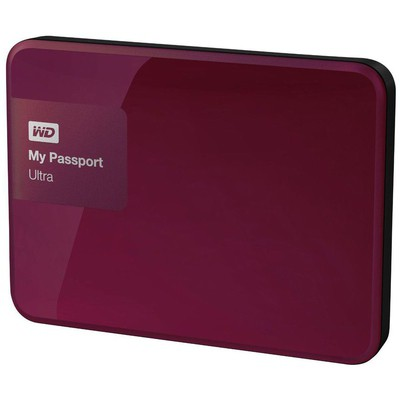 "WD My Passport Ultra 2TB Western Digital WDBBKD0020BBY 2.5"" Vişne"