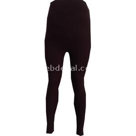 Trndy Trendy Bonbon Kalın Hamile Tayt Kahve M Pantolon, Şort, Tayt