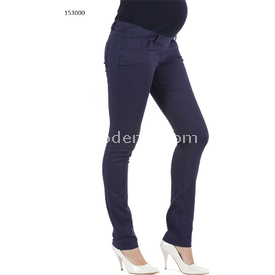 Hell klar Dar Paça Hamile Kanvas Pantalon Lacivert 48 Pantolon, Şort, Tayt