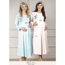 Haluk Baha Lohusa Hamile Gecelik Pembe S Gecelik & Pijama