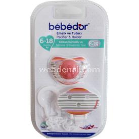 Bebedor 8162 Emzik Ve Tutacı Pembe Bebek Besleme