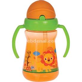 Bebedor 9504 Zoo Serisi  Oranj Alıştırma Bardağı