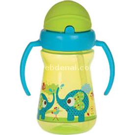 Bebedor 9504 Zoo Serisi Alıştırma Bardağı Yeşil Bebek Besleme
