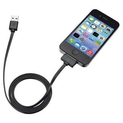 Trust Urban 20190 30 Pimli Ipad 3/Iphone 4-4s/Ipod 0su-Siyah Dönüştürücü Kablo