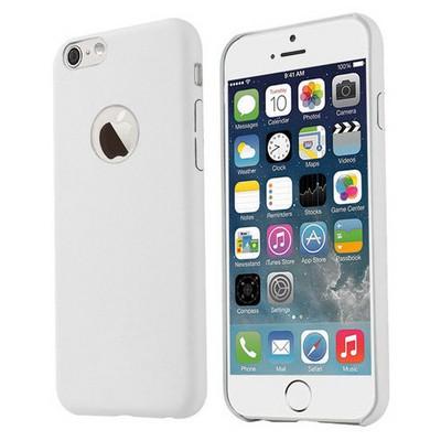 Microsonic Slim Leather Iphone 6s Plus Ince Deri Kılıf Beyaz Cep Telefonu Kılıfı